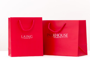 paper-bags-custom-laminated and well designed and printing in uae